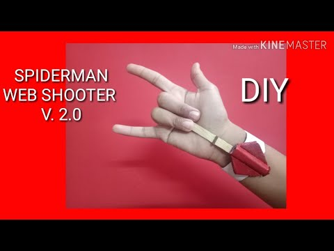How to make a SPIDERMAN WEB SHOOTER V.2.0|DIY|