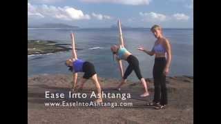Ease Into Ashtanga: Lesson 9 - Trikonasana triangle pose