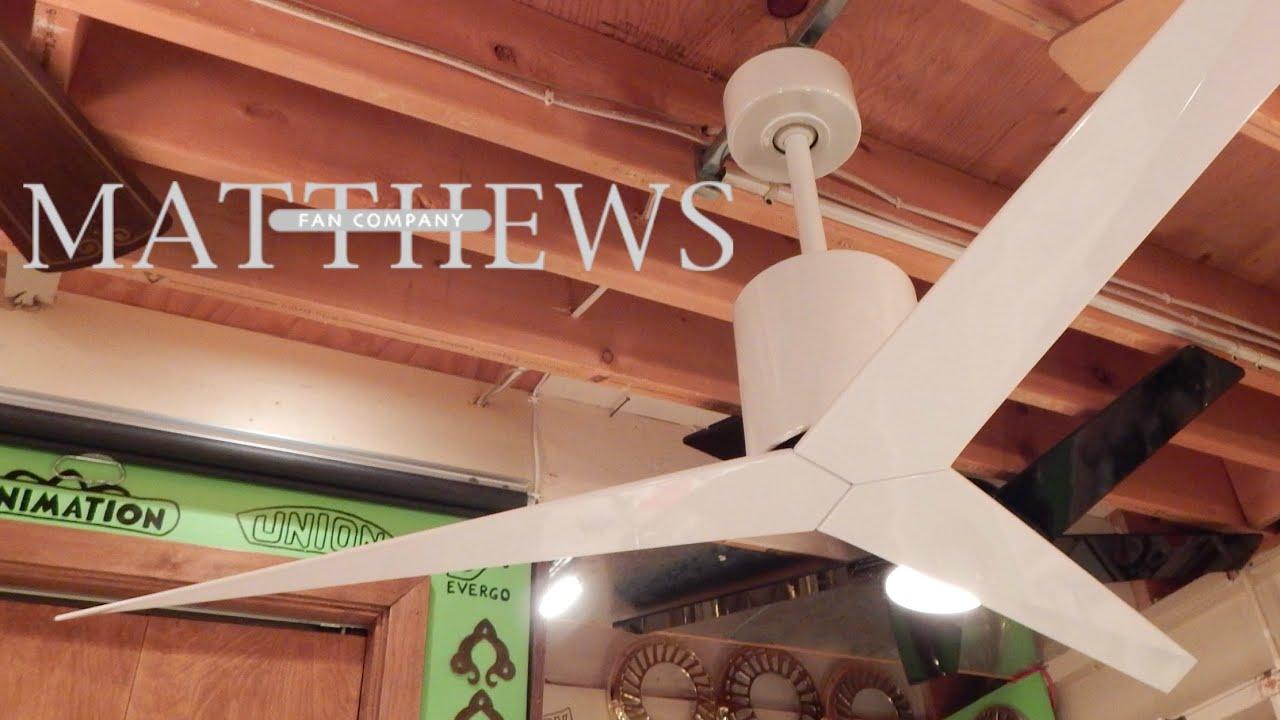 Matthews/Atlas Fan Company Eliza Ceiling Fan - YouTube