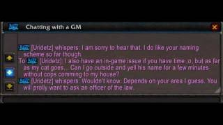 GM Chat: Lost Cat!