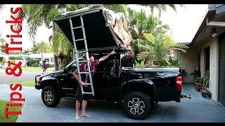 How to assemble an ARB roof top tent. Just a few little tips and tr...