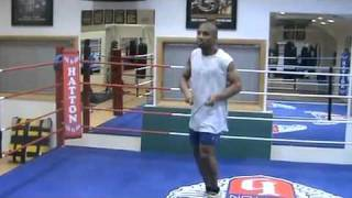 Awesome Skipping - Denton Vassell (Commonwealth Welterwight Champion)