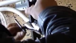 Ремонт кондиционера - вальцевание медных труб фреонопроводов