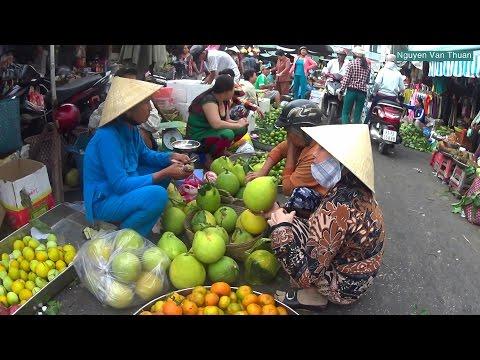 Soc Trang Market in the Lunar New Year 2017 || Vietnam