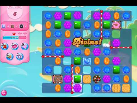 Candy Crush Saga Level 3966 NO BOOSTERS