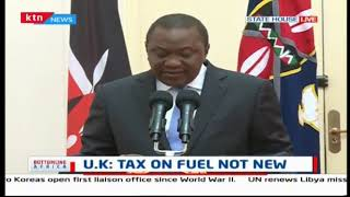 BREAKING NEWS: President Uhuru proposes reduction of  VAT on petroleum products from 16% to 8%