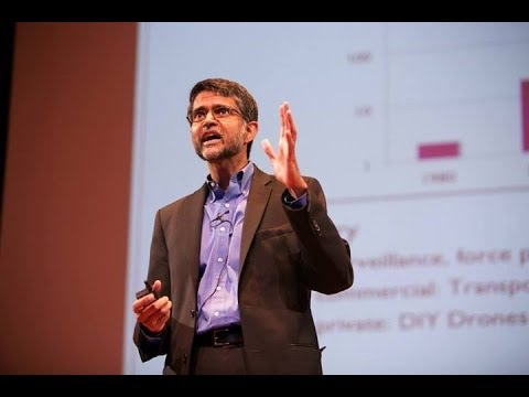 Vijay Kumar: The Swarm is Coming (Drones & Aerial Robotics Conference)