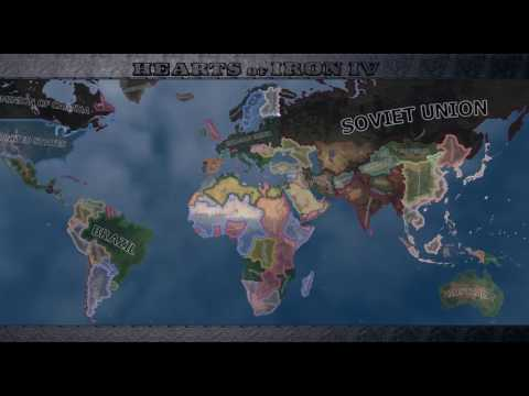 EXPERT AI! Germany Wins War? Hearts Of Iron IV Timelapse