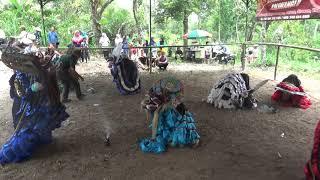 Rampak Barongan Blandhong Crew Yogyakarta at Tunggul Arum Turi Sleman