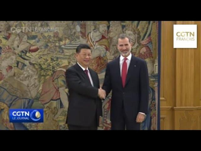 Le président chinois est en Espagne pour une visite d'État de 3 jours