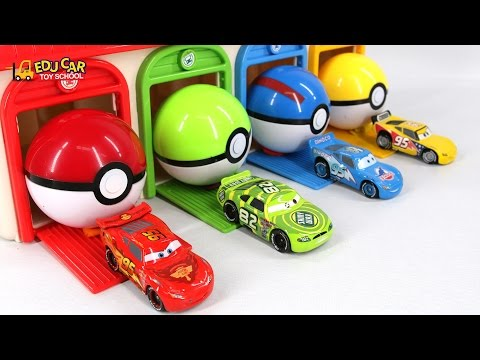 Thumbnail: Learning Color Number With Disney PIXAR Cars Lightning McQueen Mack Truck playdoh for kids car toys