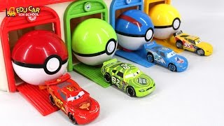 Learning Color Number With Disney PIXAR Cars Lightning McQueen Mack Truck playdoh for kids car toys