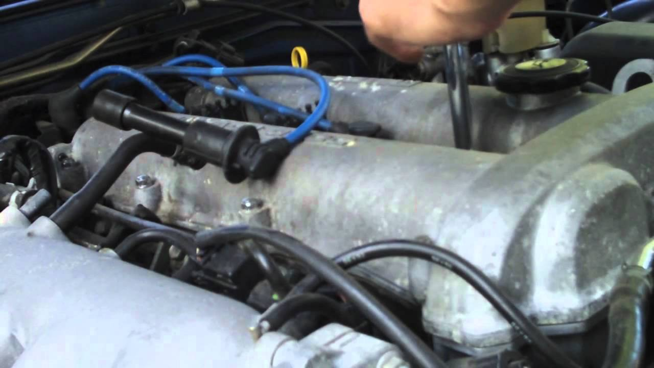 Mazda Miata Fan - Episode 2 - Changing Spark Plugs and Plug Wires ...