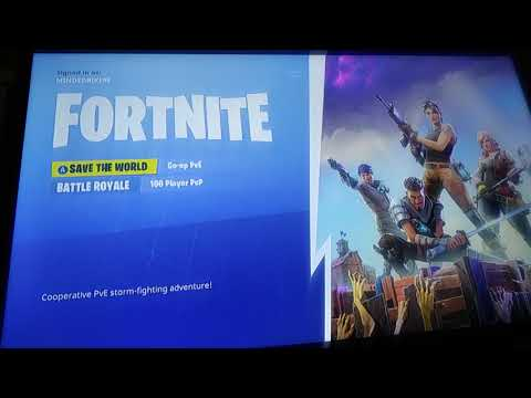 How To Get Fortnite SAVE THE WORLD Free Xbox One