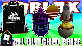 [GLITCHED EVENT] HOW TO GET ALL GLITCHED EVENT PRIZE IN ROBLOX