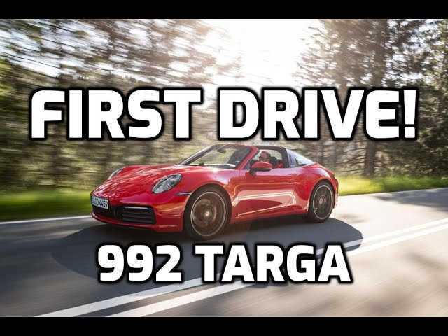 Fastest video in the west – Filming the Porsche Targa 4S
