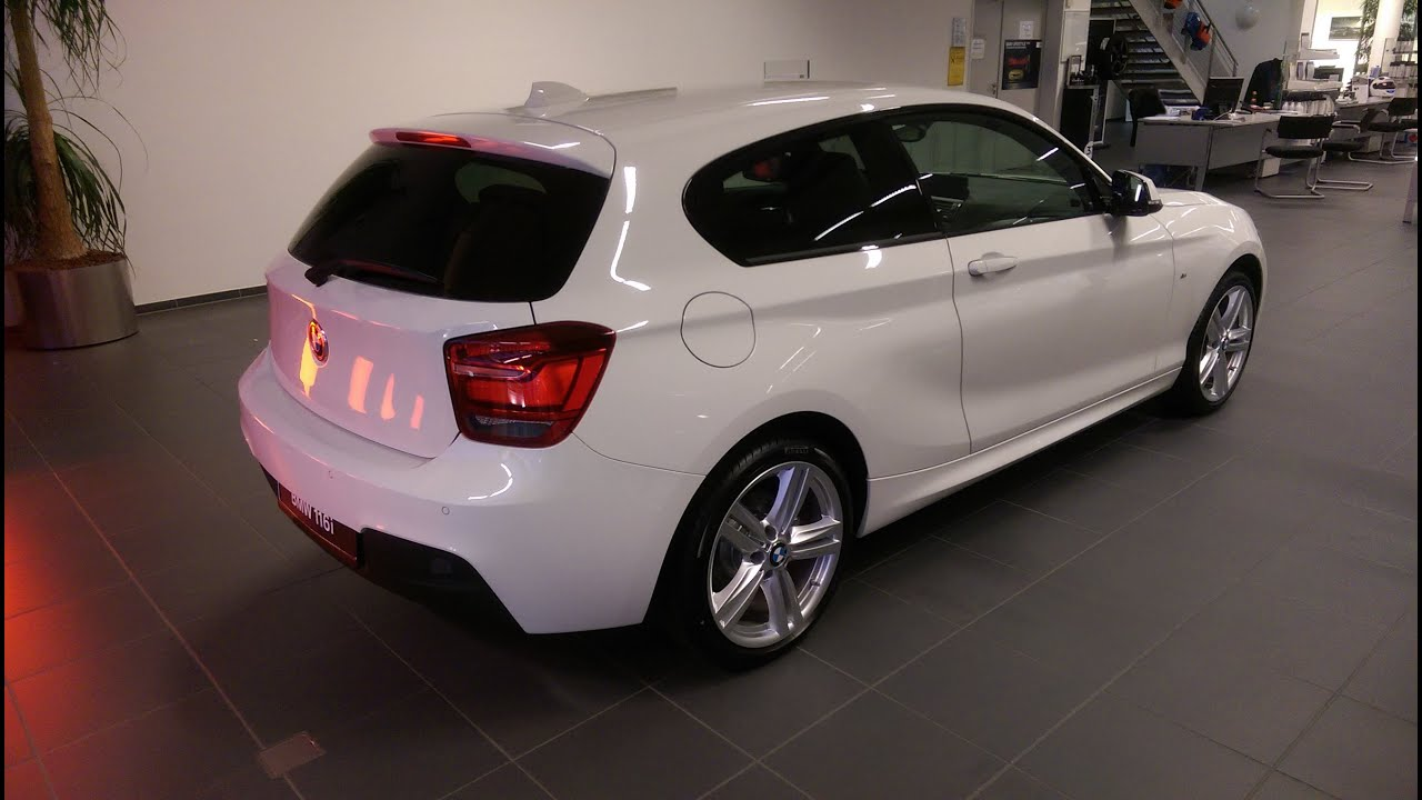 2015 bmw 116i m sportpaket - youtube