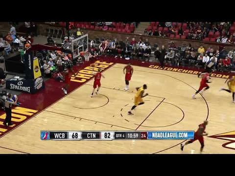 Jonathan Holmes posts 18 points & 10 rebounds vs. the Bulls