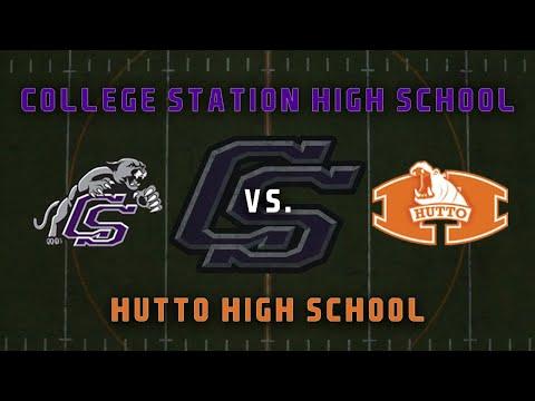 College Station High School vs. Hutto High School - Football Live Stream
