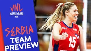 Gambar cover Serbia Women | Team Preview | Volleyball Nations League 2019
