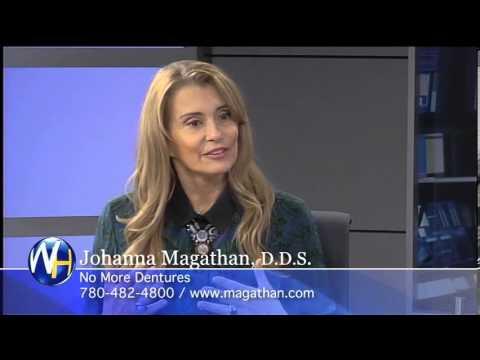 Dental Implants, Dr. Johanna Magathan, Edmonton Dentist