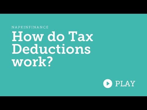 How Do Tax Deductions Work?