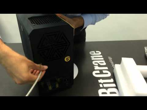 Bitcrane T-110 Review Setup Bitcoin ASIC Miner