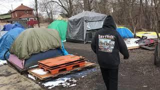 Custom homeless sleeping box