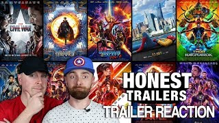 Honest Trailers MCU Reaction and Thoughts