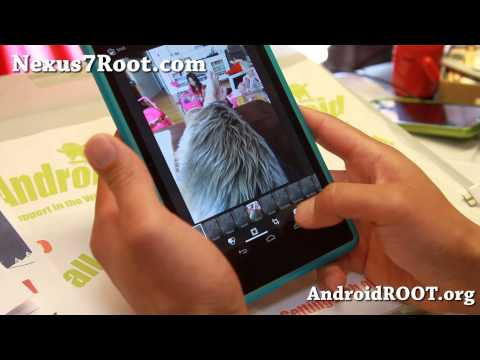 Android 4.4 KitKat ROM + Root For Nexus 7!