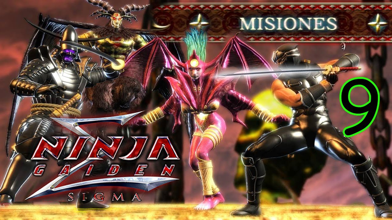 Ninja Gaiden Sigma Modo Misión [Parte 9] Gigantes del Inframundo por Marco Hayabusa