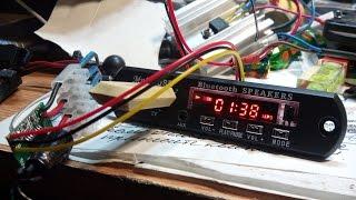Аудио Модуль Bluetooth, USB, TF, Радио, распаковка, доработка, тест.