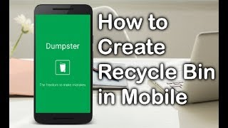 How To Create Recycle Bin & Recover Deleted Files/Apps On Android without Root (Data Recover)|| 2019