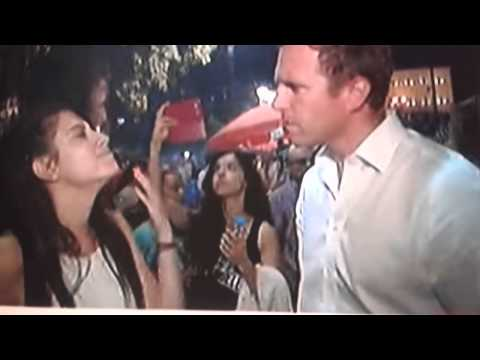 Greek referendum.. Greek girl '' we are not slaves ''