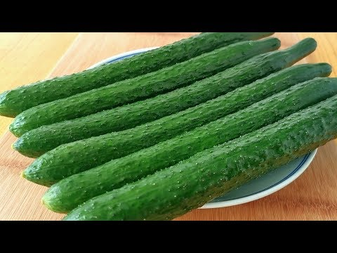 Cucumbers are not cold, teach you new ways to eat, do 6 at a time, too fragrant!