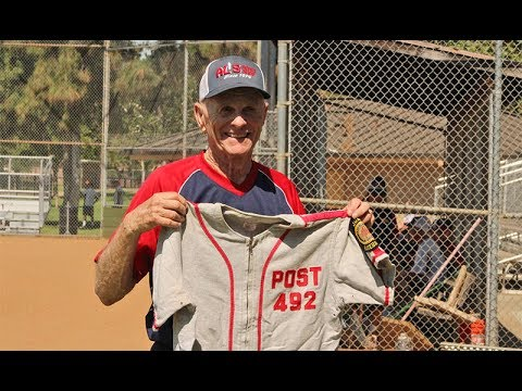 63 years later, American Legion Baseball player still swinging.