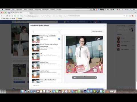 Hướng dẫn thay Frame khung avatar Facebook - JM 233 Cầu Giấy