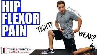 Best Exercises For Hip Flexor Pain - From a Physical Therapist