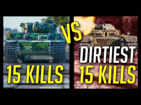 ► Dirtiest 15 Kills Ever? - World of Tanks 15 Frag Battles 2018 thumbnail