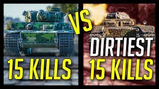 ► Dirtiest 15 Kills Ever? - World of Tanks 15 Frag Battles 2018