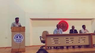 Feedback speech on workshop on Entrepreneurship for students by vinayak salunkhe