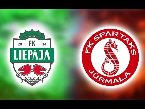FK Liepāja/Mogo - FK Spartaks Jūrmala (29.04.2017)