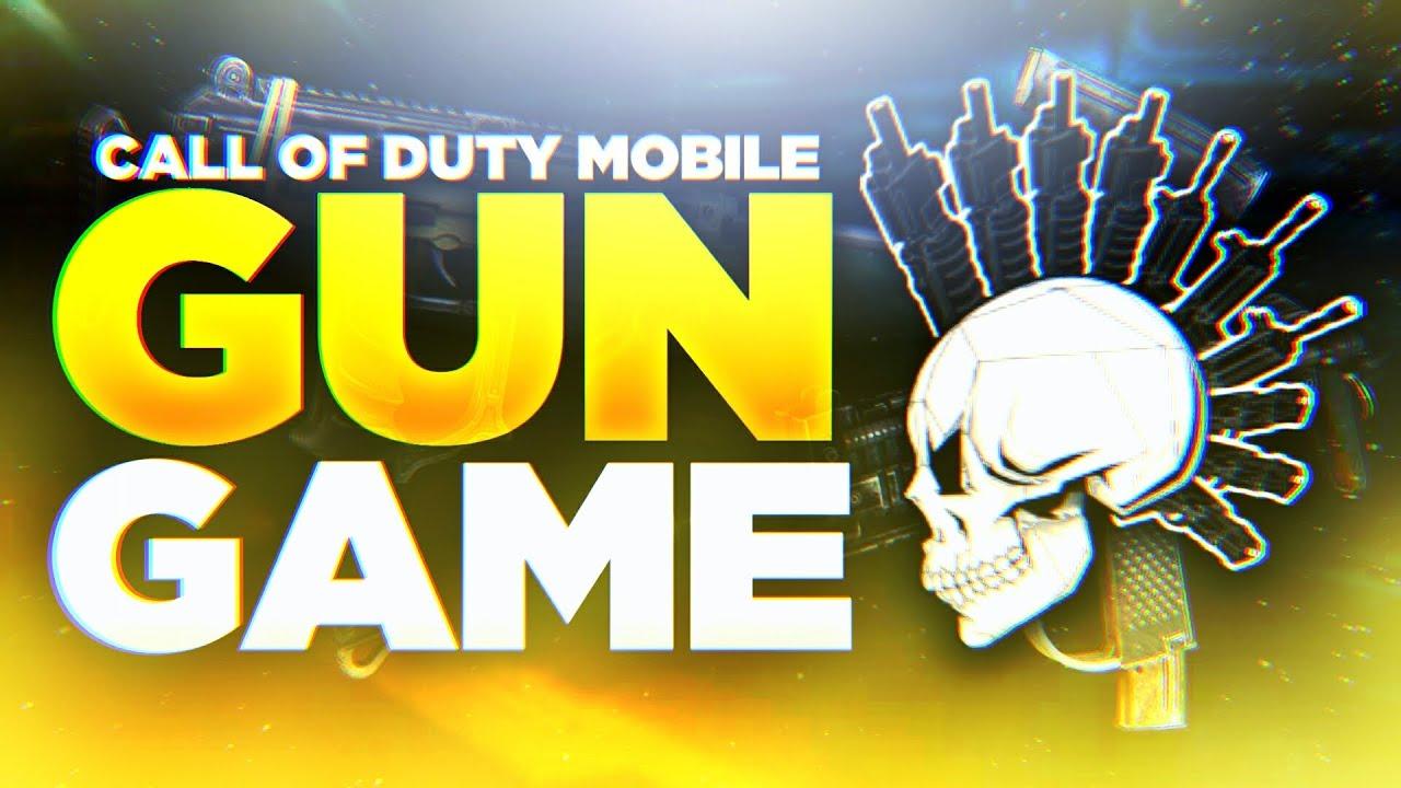 Call Of Duty Mobile Crazy Fun Mode Gun Game Youtube