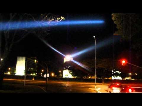 Sky Walker na esplanada dos Ministerios em Brasilia