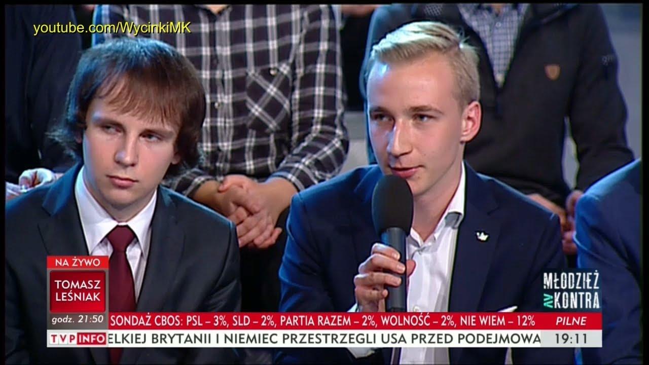 Młodzież kontra 613: Paweł Tomal (Wolność) vs prof. Andrzej Zybertowicz 14.10.2017