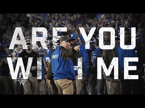 Kentucky Football 2015 Super Bowl Commercial: Are You With Me?