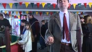 Mr.Bean in a barber shop