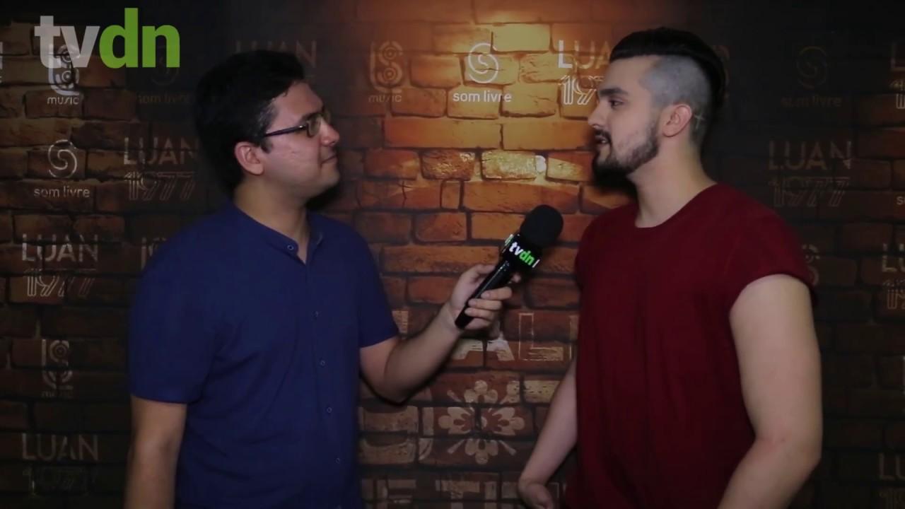 Luan Santana fala sobre preparação para Reveillon de Fortaleza