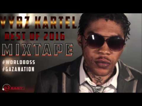 Vybz Kartel Best Of 2016 Mixtape (JANUARY 2017) Mix by djeasy