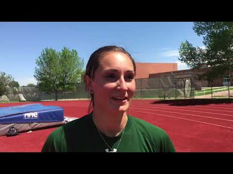High jumper Autumn Gardner, once cut from CSU's team, now holds school record